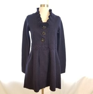 Anthropologie Charlie & Robin M Wool Jacket Coat
